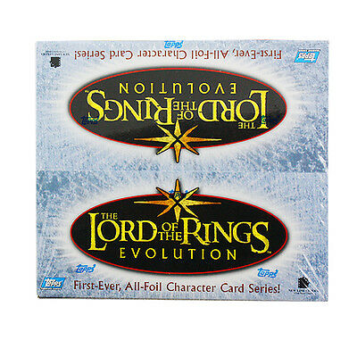 New Topps Lord of the Rings Evolution Card Factory Sealed Box