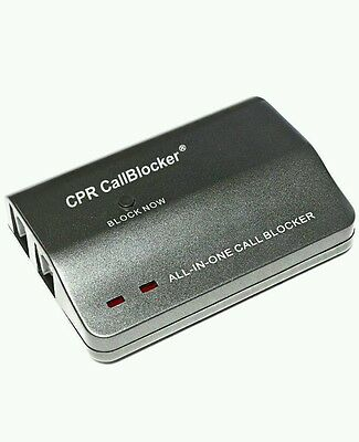 CPR 1200 Number Capacity Nuisance Call Blocker - Grey *Brand New*