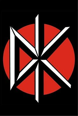 """Dead Kennedys Logo DK  Poster 24"""" x 36"""" Jello Biafra  Free US Shipping"""