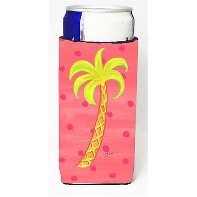 Carolines Treasures Palm Tree Michelob Ultra bottle sleeve for Slim Can