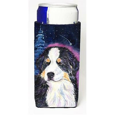 Starry Night Bernese Mountain Dog Michelob Ultra bottle sleeves for slim cans...