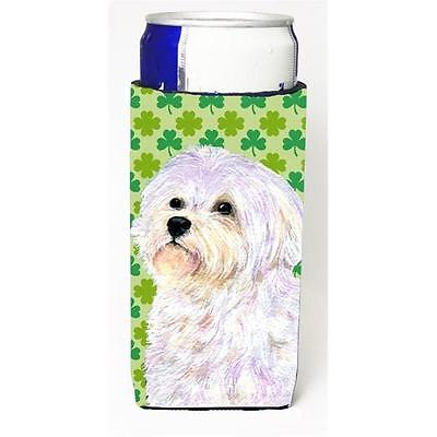 Maltese St. Patricks Day Shamrock Portrait Michelob Ultra bottle sleeves For ...