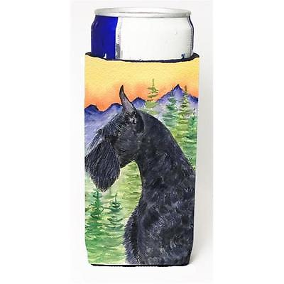 Carolines Treasures Schnauzer Michelob Ultra bottle sleeves For Slim Cans 12 oz. • AUD 47.47
