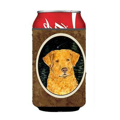 Starry Night Chesapeake Bay Retriever Can Or bottle sleeve Hugger 12 oz.