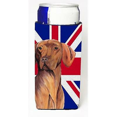 Vizsla With English Union Jack British Flag Michelob Ultra bottle sleeves For...