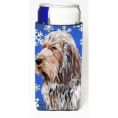 Otterhound Winter Snowflakes Michelob Ultra bottle sleeves Slim Cans 12 Oz.