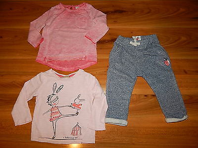 NEXT girls Strawberry trousers bundle outfit 6-9 months *I'll combine postage
