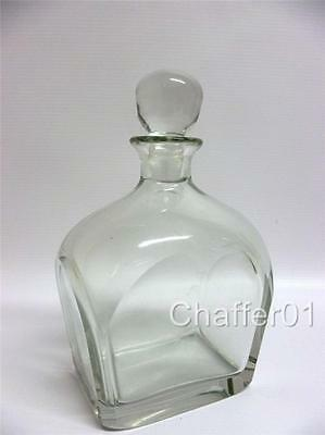 ORREFORS 450ml Retro Crystal Glass Flask/Decanter