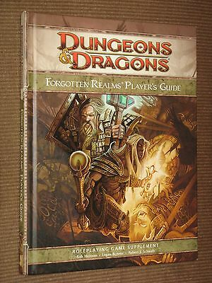 Forgotten Realms Player's Guide NM 4th ed. setting D&D WTC rpg WOTC d20