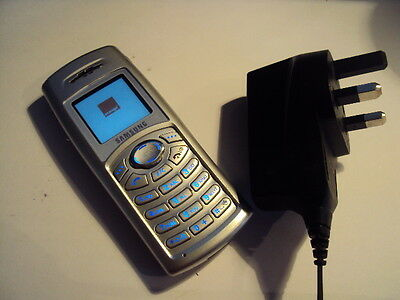 Original Samsung C100 Simple Working Mobile Phone On  Orange+Charger