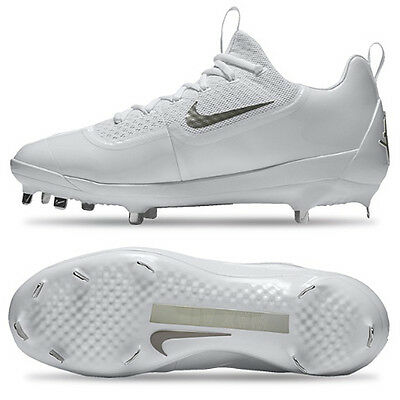 e86e88644199 Nike Men s Air Huarache 2K Filth Low Metal Baseball Cleats White 807129-101
