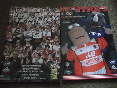 Wigan Warriors V Leeds Rhinos Play Off Elimination Semi Final 4Th October 2002