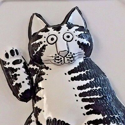 Kliban Cat 3D Collectible Wall Hanging Decor Taste Setter by Sigma Vintage Japan