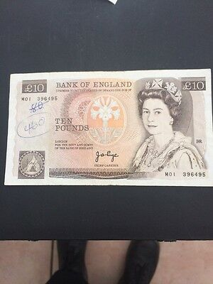 Mo1 Replacement Bank Of England Page  1st Run Rare