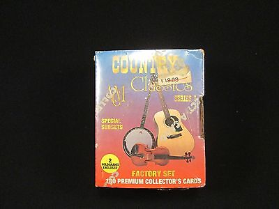 Country Classics Series I Factory Set 100 Cards Collectible Memorabilia Set