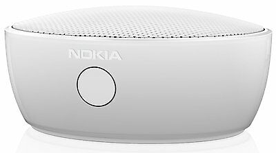 NEW Original Nokia Portable Wireless Speaker - White Z-TECH