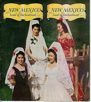 c 1947 New Mexico Land of Enchantment