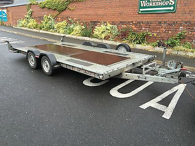 Brian James A4 Car Transporter Trailer 16ft x 6.5ft With Winch & Ramps No Vat