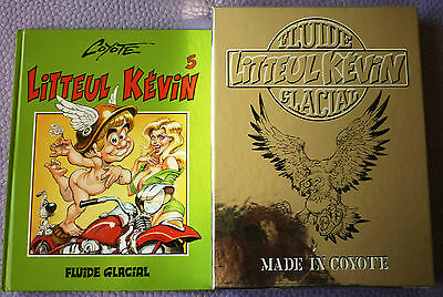 Coffret Litteul Kevin - Volume 1 A 5 - Fluide Glacial - Made In Coyote