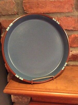 Mesa Sky Blue by Dansk Japan DINNER PLATE stoneware