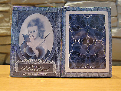 Blue Blood by Uusi Playing Cards
