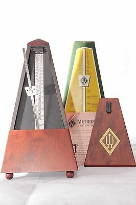 WITTNER TRADITIONAL METRONOME 801M MAHOGONY CASE *NEW* BNIB Music Timer