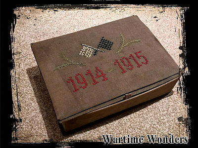 Imperial German 1914-15 Patriotic Cloth Box WW1