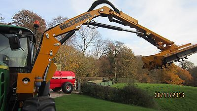 Mcconnel hedge cutter tractor mounted