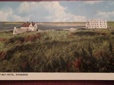 Postcard The Bay Hotel Rhosneigr Anglesey
