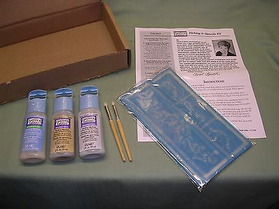 Plaid Glassware Etching Kit, New Sealed Containers, Including Stencils