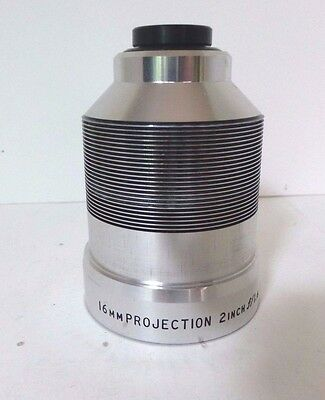Vintage Bell & Howell 2 inch  F1.6 16mm Projection Projector Prime Lens