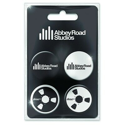 Abbey Road Studios Button Badge Pack