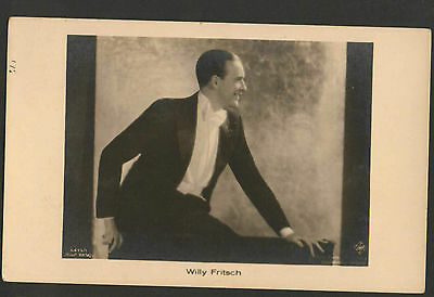 WILLY FRITSCH 1920s RARE VINTAGE POSTCARD PHOTO ROSS 6419/1