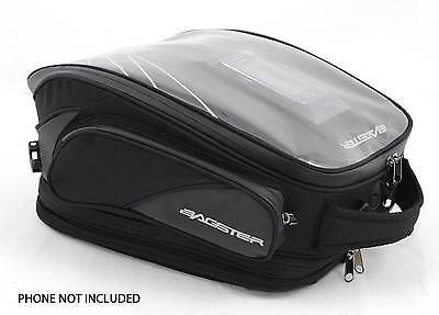 "Bagster ""flash"" Magnetic Motorcycle Tank Bag - 16-27 Litres  - Black"