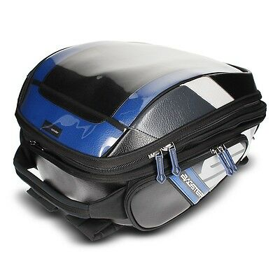 Bagster Stunt Pvc Bag For Tank Covers Or Easy Harness -Blk/blu 21-32 L Capacity
