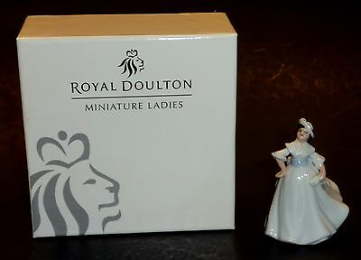 Royal Doulton Miniature Ladies Series Margaret With Box 2003 M205