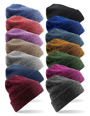 Soft Touch Knitted Acrylic Double Layer Heritage Beanie Ski Hat