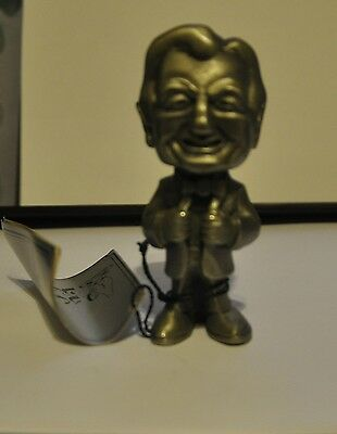 Rare Collectable Heritage Pewter Statue Nelson Rockefeller MIB