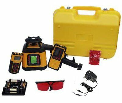 Spot-On Rotary Laser Level 500 Dual Grade - Self-levelling, X&Y ±5°, 1mm/10mm