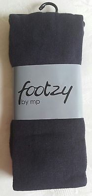 Footzy Navy Tights for Girls – Size:  3 years / 98-104 cms