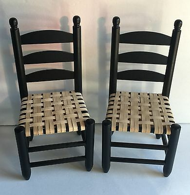 American Girl Doll Addy Winter Style Chairs Set of 2