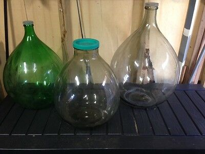 Demijohns for Wine, Oil Vinegar Storage