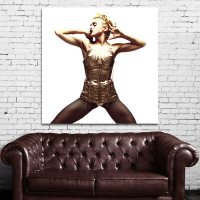 Poster Mural Madonna Musician Pin Up Model 40x50in (100x125cm) Adhesive Vinyl