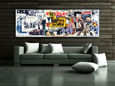 Poster Mural The Beatles Anthology 20x60 inch (50x150 cm) on Adhesive Vinyl