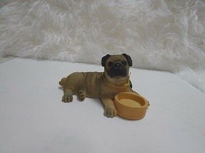 Pug ornament/figurine by Leonardo Collection - New and Boxed