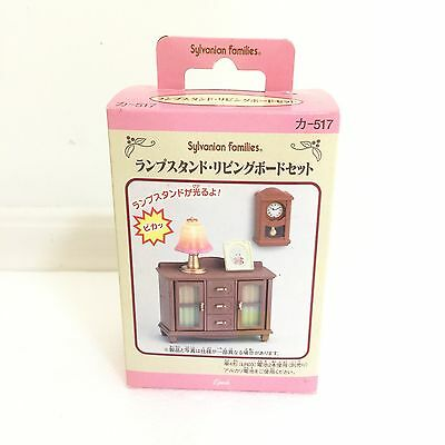 Rear Sylvanian Family (Calico Critters) Lamp Stand Living Room.New In Box