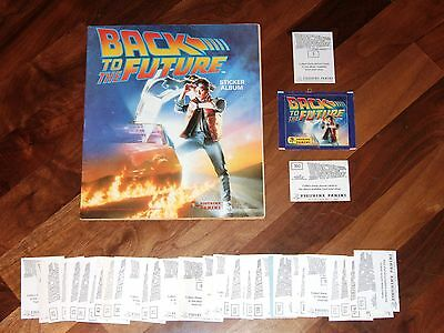 Back To The Future 1985 Panini complete Sticker Album,with loose stickers needed