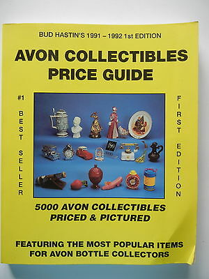 AVON COLLECTABLES PRICE GUIDE - BUD HASTIN'S 1st EDITION