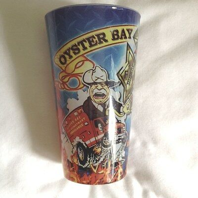Oyster Bay Fire Department Drinking Glass Featuring Teddy Roosevelt