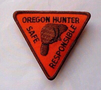 Oregon Hunter Safe Responsible Educational Safety Beaver Patch